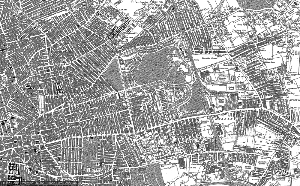 Old Map of Liverpool, 1906 in 1906