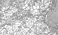 Old Map of Llanbedrgoch, 1888