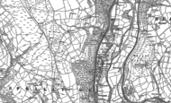 Old Map of Llanbradach, 1915 - 1916
