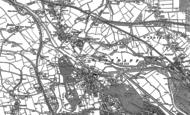 Old Map of Llandaff North, 1899 - 1915