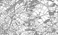 Old Map of Llanddeiniolen, 1899