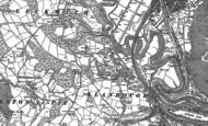 Old Map of Llandough, 1897