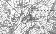 Old Map of Llandovery, 1886 - 1904