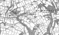 Old Map of Llandygwydd, 1904