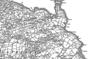 Old Map of Llaneilian, 1899