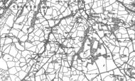 Old Map of Llanelian yn-Rhôs, 1911