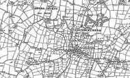 Old Map of Llanerchymedd, 1887