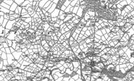 Old Map of Llanfaglan, 1899