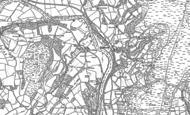 Old Map of Llanfaredd, 1887 - 1903
