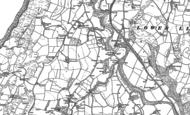 Old Map of Llanfarian, 1904