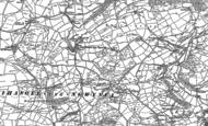Old Map of Llanfihangel-yng-Ngwynfa, 1885