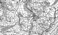Old Map of Llanfynydd, 1885 - 1887