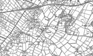 Old Map of Llangaffo, 1899
