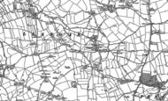 Old Map of Llangan, 1897