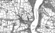 Old Map of Llangwm, 1906