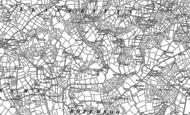 Old Map of Llaniestyn, 1899