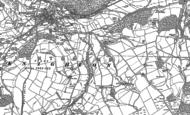 Old Map of Llanshay, 1887 - 1902