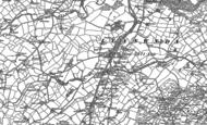 Old Map of Llanwnda, 1899