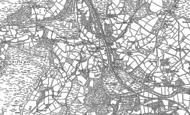 Old Map of Llanwrthwl, 1902