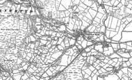 Old Map of Llanwrtyd Wells, 1887
