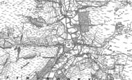 Old Map of Llanymawddwy, 1900