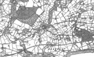 Old Map of Llanystumdwy, 1888 - 1899