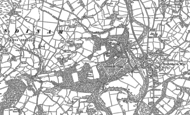 Old Map of Llysdinam, 1902 - 1904