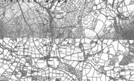 Old Map of Llywel, 1885