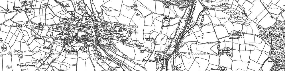 Old map of London Apprentice in 1881