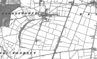 Old Map of Londonthorpe, 1885 - 1887