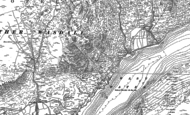 Old Map of Long Crag, 1898