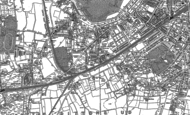 Old Map of Long Ditton, 1895