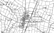 Old Map of Long Marston, 1900