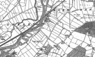 Old Map of Long Sandall, 1890 - 1891