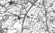Old Map of Longbridge, 1883