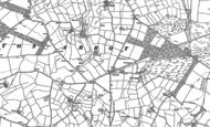 Map of Longcross, 1882 - 1883