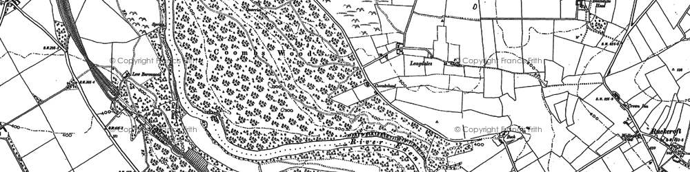 Old map of Aimbank in 1898