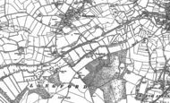 Old Map of Longford, 1880 - 1900