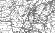 Old Map of Longford, 1886 - 1887