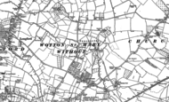 Old Map of Longlevens, 1883