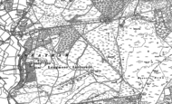 Old Map of Longmoor Camp, 1908 - 1909