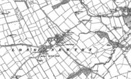 Old Map of Longnewton, 1913