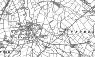 Old Map of Longnor, 1882