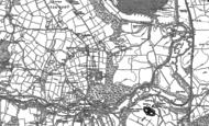 Old Map of Longsdon, 1879 - 1898