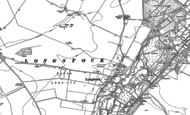 Old Map of Longstock, 1894