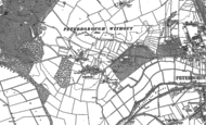 Old Map of Longthorpe, 1887 - 1899