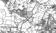 Old Map of Longworth, 1886