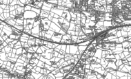 Old Map of Lostock, 1892
