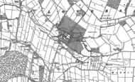 Old Map of Loversall, 1891 - 1901
