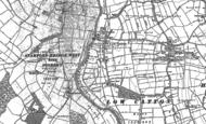 Old Map of Low Catton, 1891